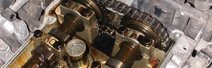 Замена цепи ГРМ двигатель G4EE, G4EC и G4ED