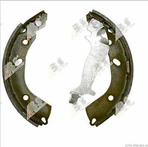 Колодки тормозные задние барабанные — 58305-1CA00