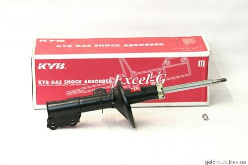 Амортизатор газомасленный передний левый KYB – 333507
